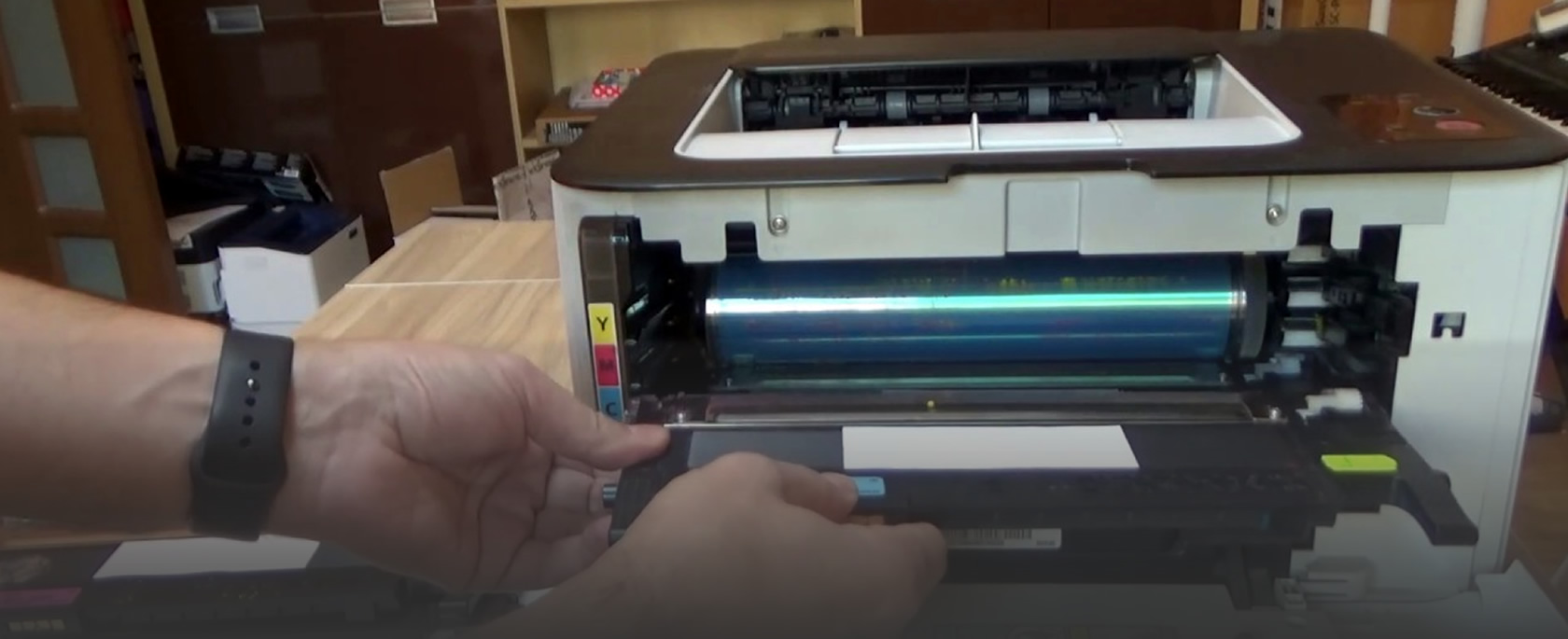 Прошивка и заправка HP LJ 107, MFP 135, MFP 13, Color Laser 150a, Color Laser 178/179